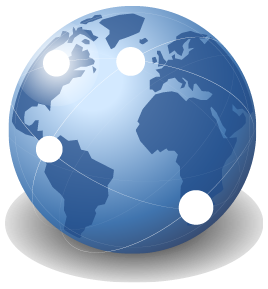 Blue Earth Internet Image
